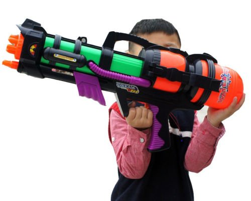23' Large Water Gun Pump Action Super Soaker Sprayer Outdoor Beach Garden...