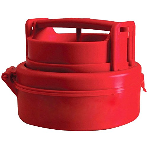 Stuffed Hamburger Burger Press Mould Plastic Novelty Compact Kitchen Tool Red - 6