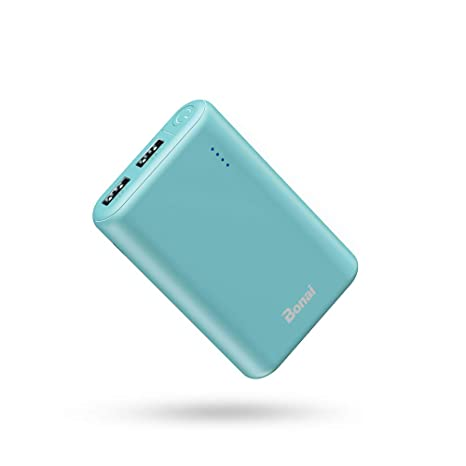 BONAI Power Bank Portable Charger 7800mAh, Bateria Externa para Movil Cargador Portatil, Salida Doble