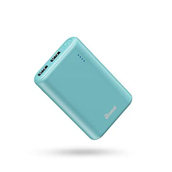 BONAI Power Bank Portable Charger 7800mAh, Bateria Externa para Movil Cargador Portatil, Salida Doble Puerto USB 2.1A: Amazon.es: Electrónica