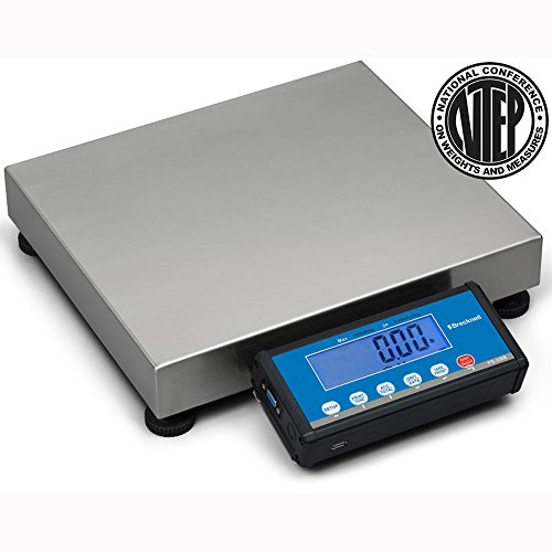 Brecknell PS-USB Portable Shipping Scale, 150LB Capacity, Emulation Protocols, LCD Screen, Aluminum and Steel Construction, Universal