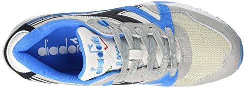 Diadora N9000 Nyl, Scarpe Low-Top Unisex-Adulto Multicolore (C6119 Azzurro Angelo/Azz Citta Marin)