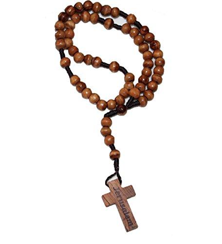 Original Jerusalem Olive Wood Rosary product image