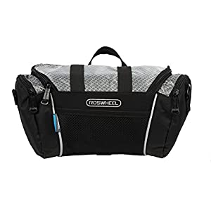 Roswheel 11494 5L Capacity Bike Front Handlebar Bag Bicycle Basket Cycling Accessories Pack