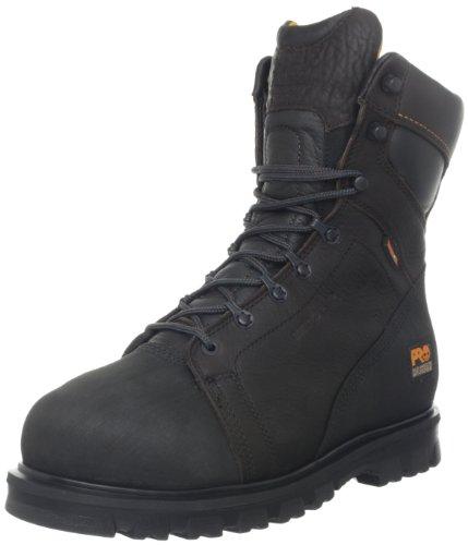 Timberland PRO Men's Rigmaster 8 Inch Waterproof Met Work Boot,Brown,8.5 W (Met Mens Boots)