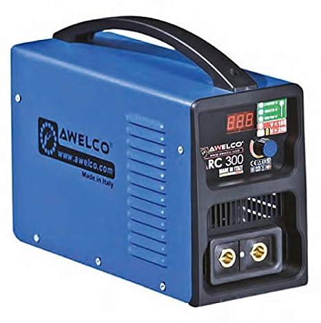 Soldadura de electrodos MMA inverter Awelco Arc 190 con maletín: Amazon.es: Bricolaje y herramientas
