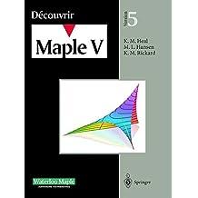 Découvrir Maple V