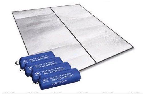 Carzy Shopping 200*250 Outdoor Aluminum Moisture-proof Pad Aluminum Foil Cushion