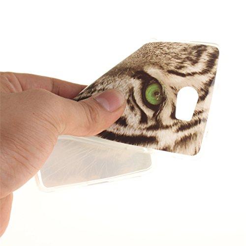 Arrière Y5 Souple Y5 Slim Transparent Scratch Motif Compact TPU Couverture En Silicone Cas II Antichoc De Y6 Bord Protection De Fit leopard Téléphone Peint 2 Huawei Cas II Résistant Hozor 7aT5qtwt