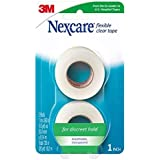 Nexcare Flexible Clear Tape, Hypoallergenic, 1 Inch X 10 Yard Roll, 2 Rolls