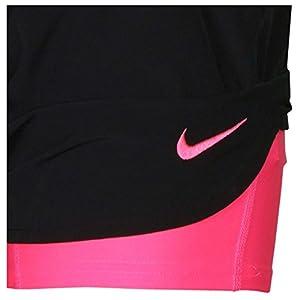 Nike Womens Flex Training Short (Medium, Black/Pink)