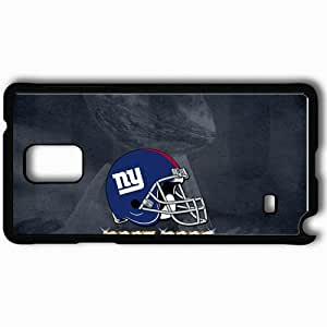 Personalized Samsung Note 4 Cell phone Case/Cover Skin 1588 new york giants Black