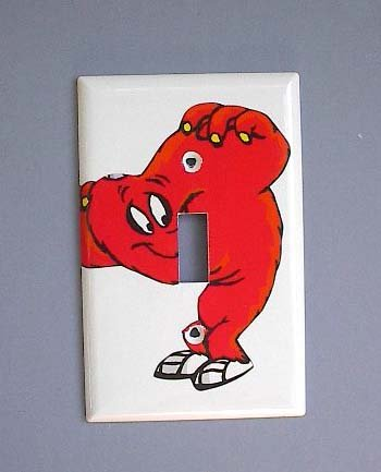 looney-tunes-gossamer-switch-plate-switchplate