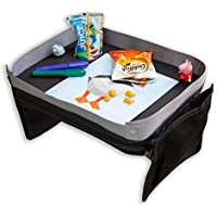 Modfamily Travel Tray for Kids-Lap Desk Organizes Snacks and Activities for Car