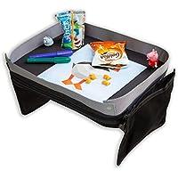 Modfamily Travel Tray for Kids-Lap Desk Organizes for Car