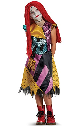 Sally Deluxe Child Costume, Multicolor, Small (Kids Nightmare Before Christmas Costume)