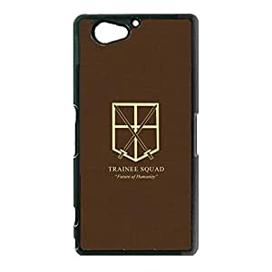 Artistic Pattern Attack On Titan Phone Case Cover For Sony Xperia Z2 Compact/Z2 mini Wings of Liberty Fashionable
