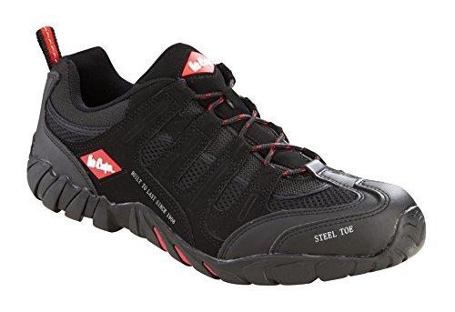 Lee Cooper Workwear lcshoe008c_12% 2F46 _12 scarpe, colore: nero