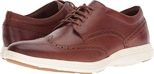 Cole Haan Men's Grand Tour Wing Ox Woodbury Leather/Ivory 12 D US D (M) (Us Woodbury)