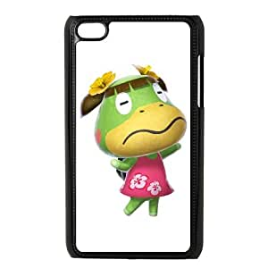 iPod Touch 4 Case Black Animal Crossing New Leaf T7I7WW