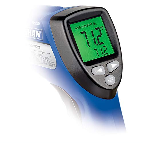 Vaughan 3-Color Infrared Circular Laser Thermometer Color-Coded Display - 240023 by Vaughan (Image #5)