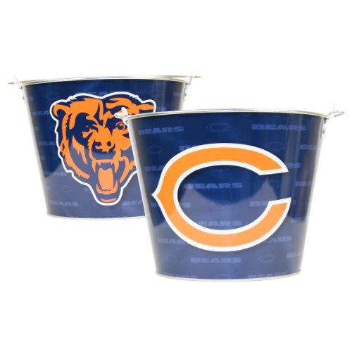 NFL Full Color Team Logo Aluminum Beer Bucket (Chicago Bears)
