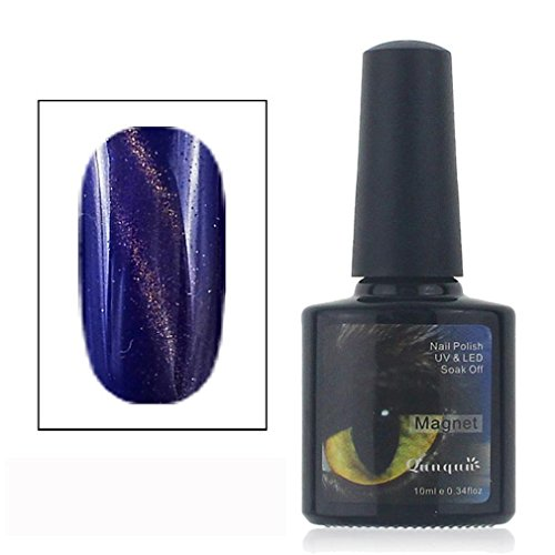 Candy Magnet (UV Nail Polish Cat Eye Effect Gel Shimmer Magnet 3D Nail Art Galaxy 10ml (K))