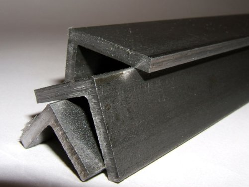 Bright Mild Steel Angle 3mm 25 x 25 Square edge- corners & roots Maidstone Engineering