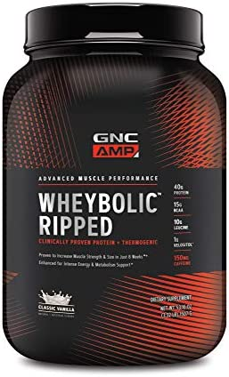 GNC Wheybolic Protein Servings Contains product image