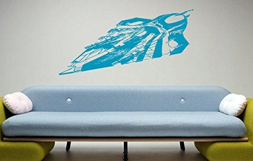 - Delta-7 Jedi Starfighter Star Wars Nursery Room Kids Bedroom Wall Sticker Decal Wall Art Decor G7306-2