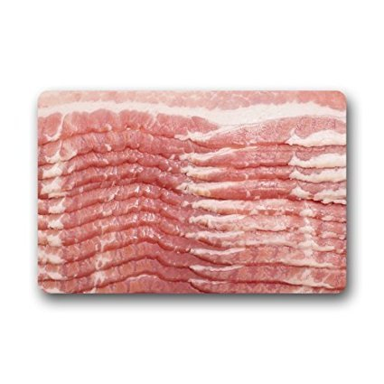 tslook fashions doormat funny bacon design welcome door
