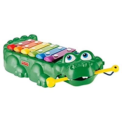 Fisher Price 2-in-1 Crocodile Keys: Toys & Games