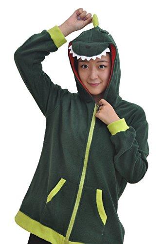 Dinosaur Costume Cosplay Anime Hoodie Sweatshirt (Dinosaur Hoodie Costume)