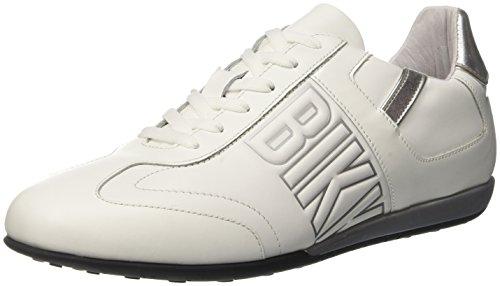 Bikkembergs Herren R-evolución 186 Zapatilla De Deporte, Bianco, Bianco Medios