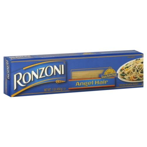 Price comparison product image Ronzoni Angel Hair Pasta 16 oz (Pack of 20)
