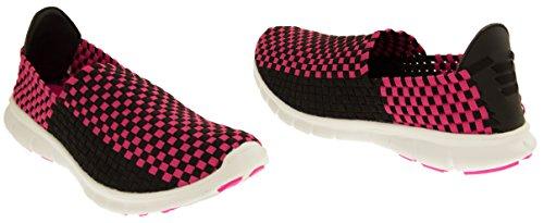 Gola ginnastica 707 da Toe nere estensibili Sneakers Closed Women elastiche ala A4Ar7qpPw
