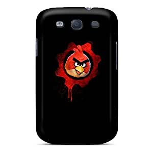 Premium Grungy Bird Back Cover Snap On Case For Galaxy S3