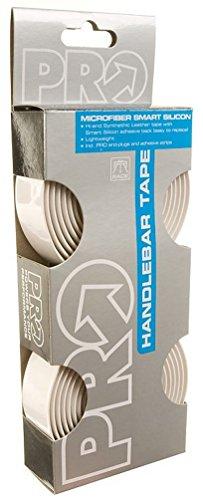 Shimano PRO Smart-Silicon Digital Carbon Handlebar Tape, White/White Digital Carbon PU Tape