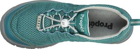 Propet W3239 Womens Walker Travel II Sneakers Sport Schuhe Teal, Grey