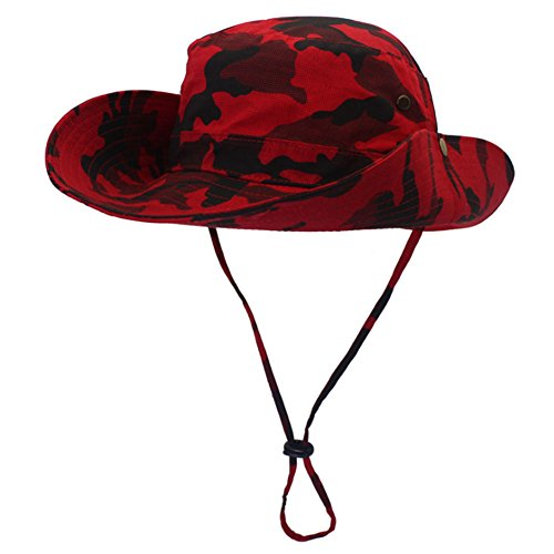 Revgear Long Sleeve (YOYEAH Outdoors Large Brimmed Fishing Hats Outdoor Hunting Hat Red)