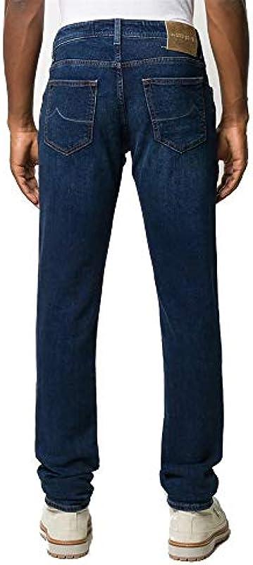 Jacob Cohen dżinsy męskie Slim COMF 00028V-5301-866 granatowe: Odzież