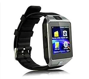 Padgene DZ09 Bluetooth Smart Watch with Camera for Android Devices, Black