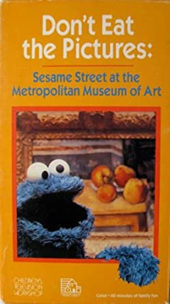 Sesame Street at the Metropolitan Museum of Art: Don't Eat the Pictures