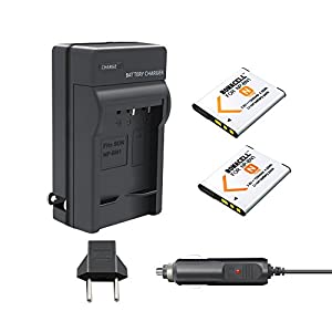Bonacell 2 Pack Replacement 1200mAh Sony NP-BN1 Battery and Charger Kit for Sony Cyber-shot DSC-QX10 DSC-QX30 DSC-QX100 DSC-TF1 DSC-TX10 DSC-TX20 DSC-TX30 DSC-W530 DSC-W570 DSC-W650 and More