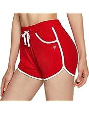 TSLA Women's High Waisted Bike Shorts, Workout Running Yoga Shorts with Pocket, Athletic Stretch Exercise Shorts
