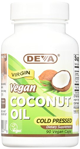 Deva Nutrition Virgin Coconut Oil 500 Mg Vcap, 90 Count