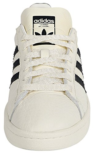 adidas Campus, Sneaker Uomo Bianco (Chalkwhite/Core Black/Cream White)