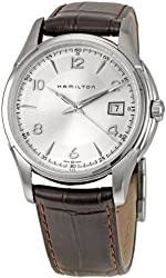Hamilton H32411555 American Classics Jazzmaster Mens Watch - Silver Dial