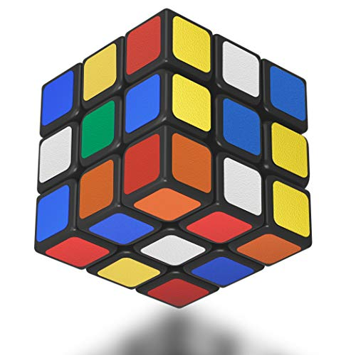 NOTVEUP Classic Magic Smart Speed Cube 3x3 High Best Challenge Speed Puzzles Toys Best Quicker Precisely Brain Training Game Excellent Gift Idea