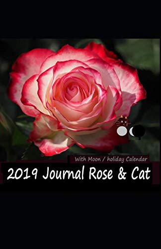 2019 Journal Rose & Cat: With Moon / Holiday Calender (Earth Walk)